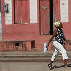 Gold bandanna - Baracoa, Cuba by fionapine