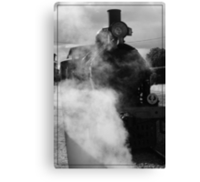 Steam Ranger At the Station Canvas Print