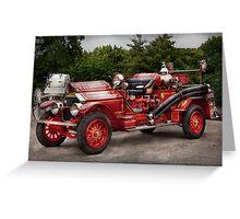 Fireman - Phoenix No2 Stroudsburg, PA 1923  Greeting Card