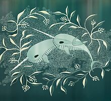 Narwhal Illumination by Miss Dilettante