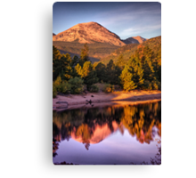 Morning Light Of The Mountain Canvas Print