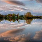 Reflections of nightfall by greyrose