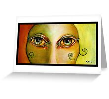 Bolly Eyes Greeting Card