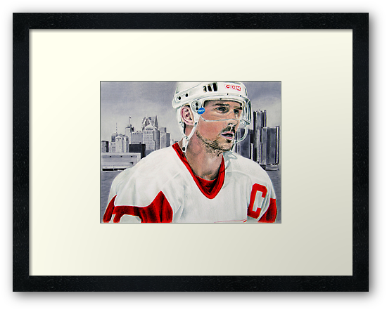Steve Yzerman by Graham Beatty