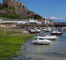 In Coming Tide, Gorey, Jersey by wiggyofipswich