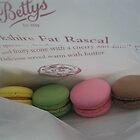 Betty's macaroons.... mmmm by Rachel Kendall