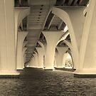 Woodrow Wilson Bridge by Eileen Brymer