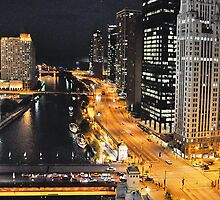 Chicago River ~ Chicago, IL by Susana Weber