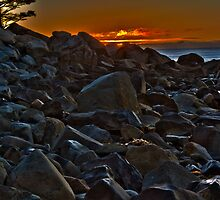 White Point Rocks (HDR) by Scott Ruhs
