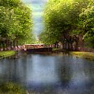 Dublin's Grand Canal - Dublin, Ireland by Mark Richards