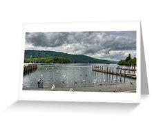 View over Windermere Greeting Card