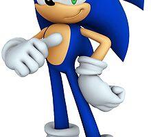 Sonic The Hedgehog by jjjlaalaa