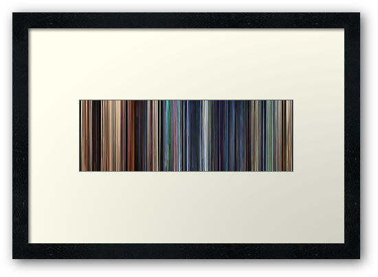 Moviebarcode: WALL·E (2008) by moviebarcode
