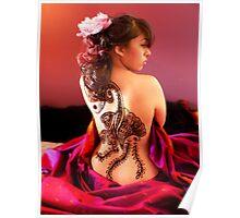 Silken Poster