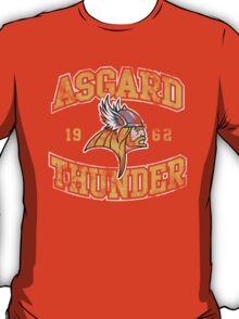 Asgard Thunder Football Athletic Tee T-Shirt