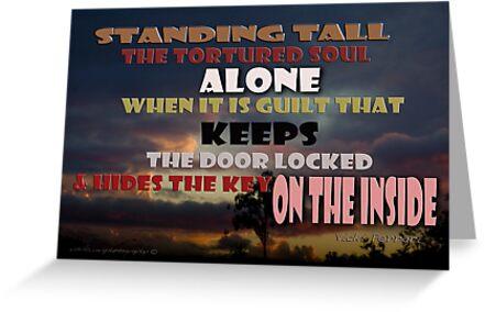 Standing Tall Alone © Vicki Ferrari by Vicki Ferrari