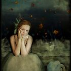 Girl With Swan by Sybille Sterk