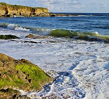 Ocean view in Guidel - Brittany by Patrick Morand