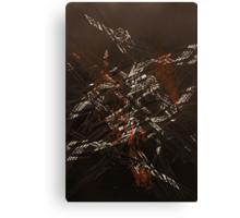 'Detention' series 3 - 3 Canvas Print