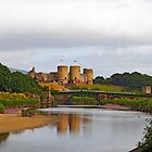 Welsh Castle by sandmartin