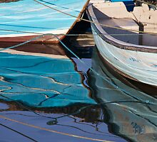 Blue Boats by BradBaker