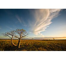 The Sunlit Plains Extended... Photographic Print