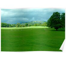 Chatsworth Estate View. Poster