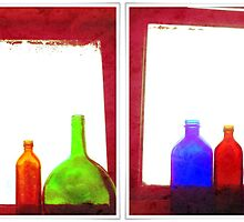 RED bottles by Maliha Rao