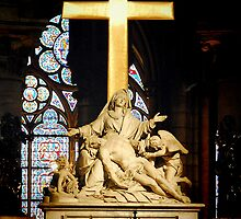 High Altar of Notre Dame-Paris, France by John Taylor