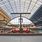 St. Pancras International by Gerry  Balding