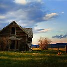 Sunset at the Bluebird House by EchoNorth