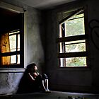 """Contentment"" Self Portrait, Abandoned House, CT by MicheleDAmicol"