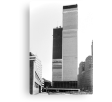 World Trade Center 1971 the Other Side Canvas Print