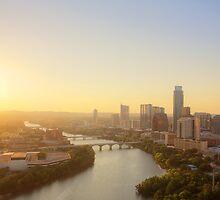 Austin Sunset by Andy Heatwole