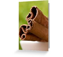 Spicy Quill in repose Greeting Card