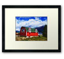 Mini Barn Framed Print