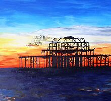 West Pier Brighton by Tjones01