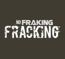 No Fraking Fracking by John Ossoway