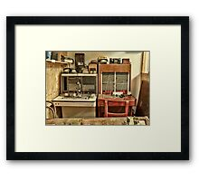 The Telephone Exchange Framed Print