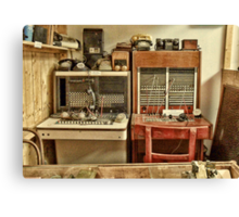 The Telephone Exchange Canvas Print