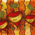 peace * love * hope for Drawing Day 2011 by Adriana Glackin