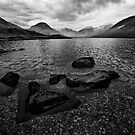 Wastwater 04 - Classic View of Wasdale, Cumbria by Simon Lupton