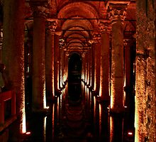 Basilica Cistern by phil decocco