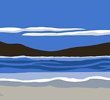 Contemporary  Seascape by studioart