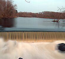 Faulkner Mills Falls by SPPhotography