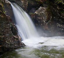 Bingham Falls Flowing with Gusto by Murph2010