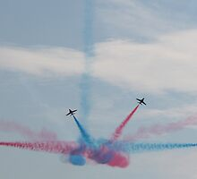 Red Arrows 10 by JenMetcalf