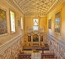 The Chapel at Holkham Hall by Chris Thaxter