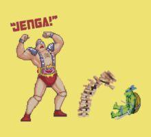 Teenage Mutant Jenga Turtles by Greg Little