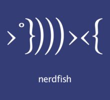 Nerdfish - White by LTDesignStudio